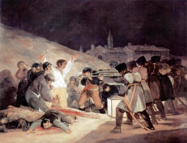 Tres de Mayo de Goya